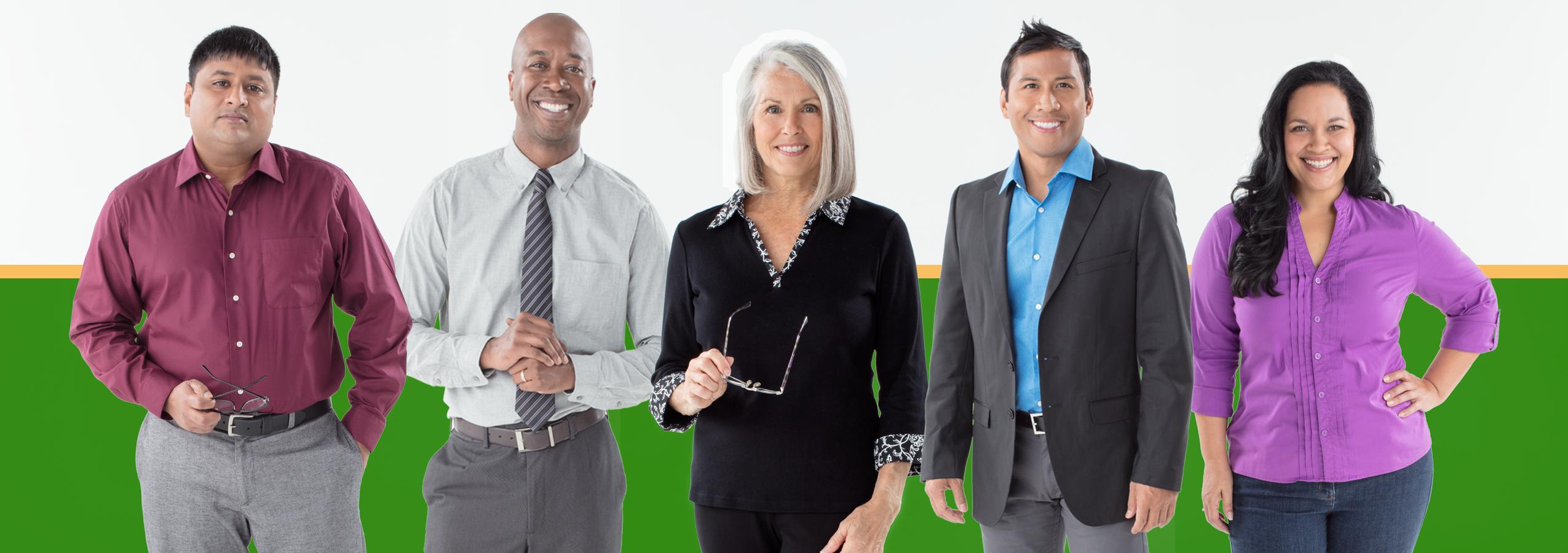 Picture of five Publix associates